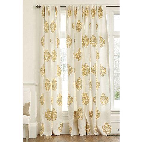 Bingham Printed Damask Panel. Living Room CurtainsBallard DesignsWindow ...
