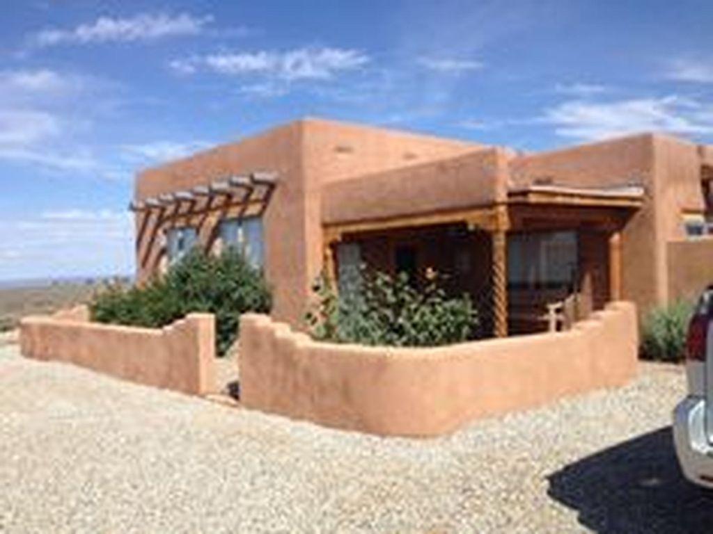 Amazing Modern Adobe House Exterior Design Ideas 8 Homegardenmagz House Designs Exterior Adobe House Exterior Design