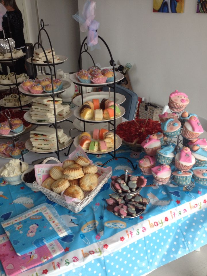 Vaak High tea hapjes babyshower | Babyshower - Baby shower tea, Tea en @UL89