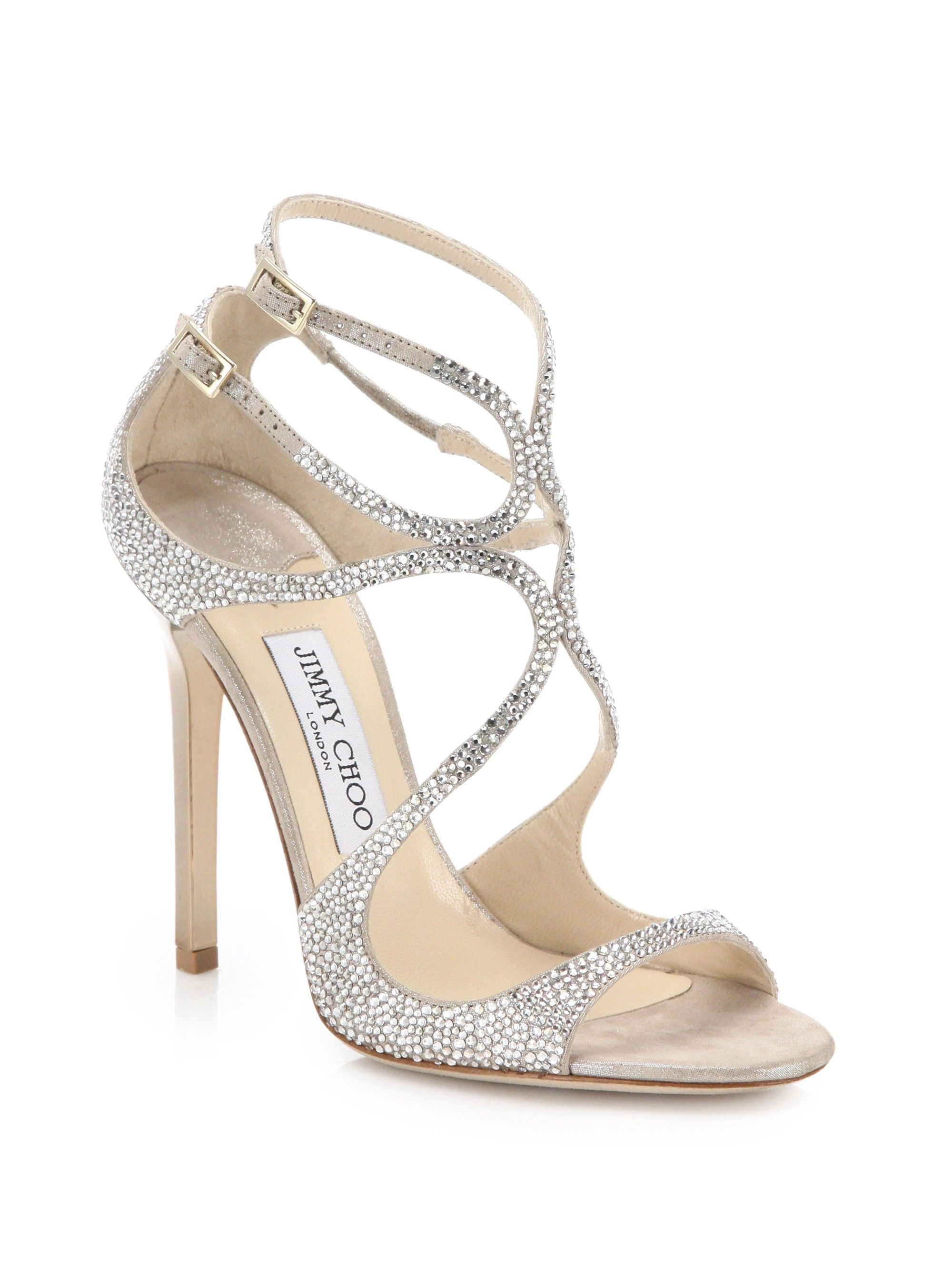 7049337a09ae JIMMY CHOO Lang Memento Ankle-Wrap Suede Sandals.  jimmychoo  shoes ...