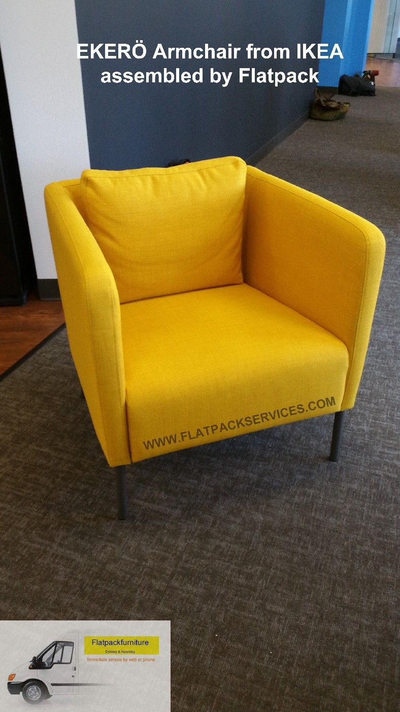 Assembly photos for ikea eker chair skiftebo yellow for Ikea delivery phone number