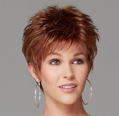 Short Spikey Hairstyles Women Over 40