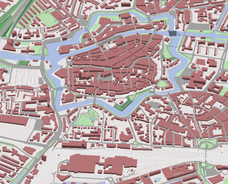 Zwolle map Pinterest