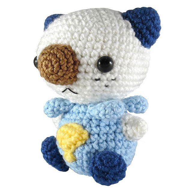 Pokemon: Oshawott pattern by i crochet things | Pinterest