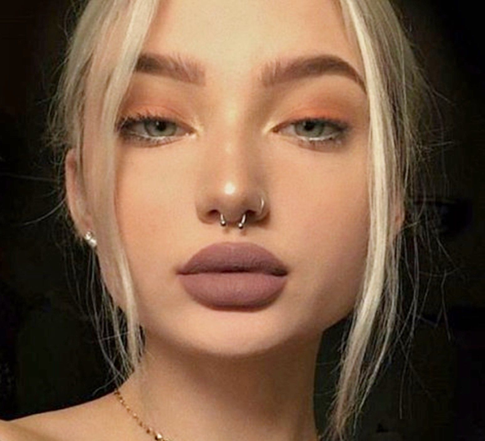 Piercing nose with ring  Silver Nose Ring Hoop Ear Septum mm Helix Cartilage Tragus Small