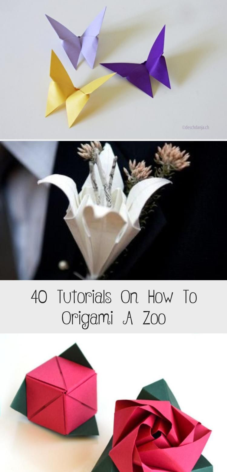 Photo of 40 Tutorials On How To Origami A Zoo – Origami Ideas