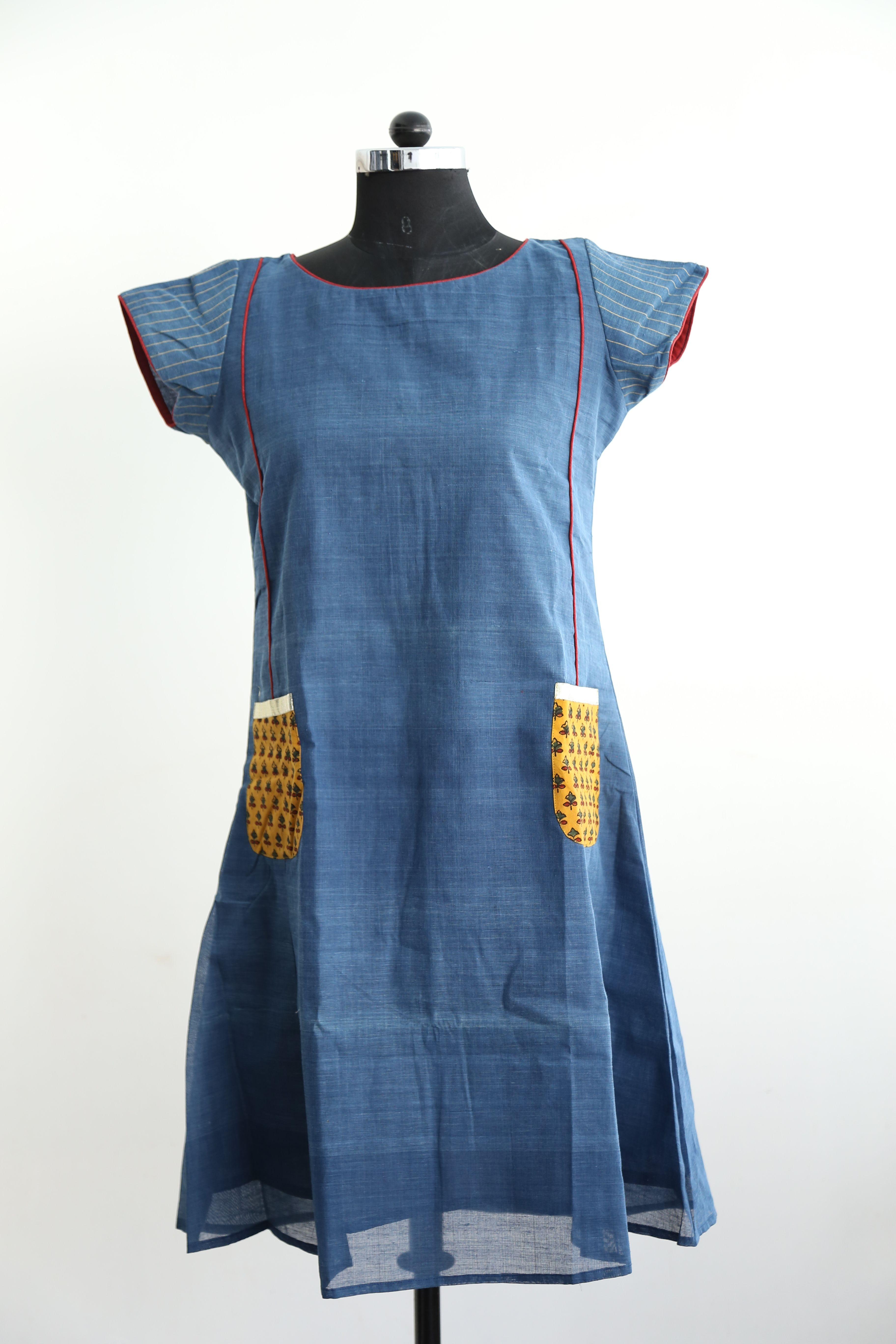 Jamdani Khadi dress