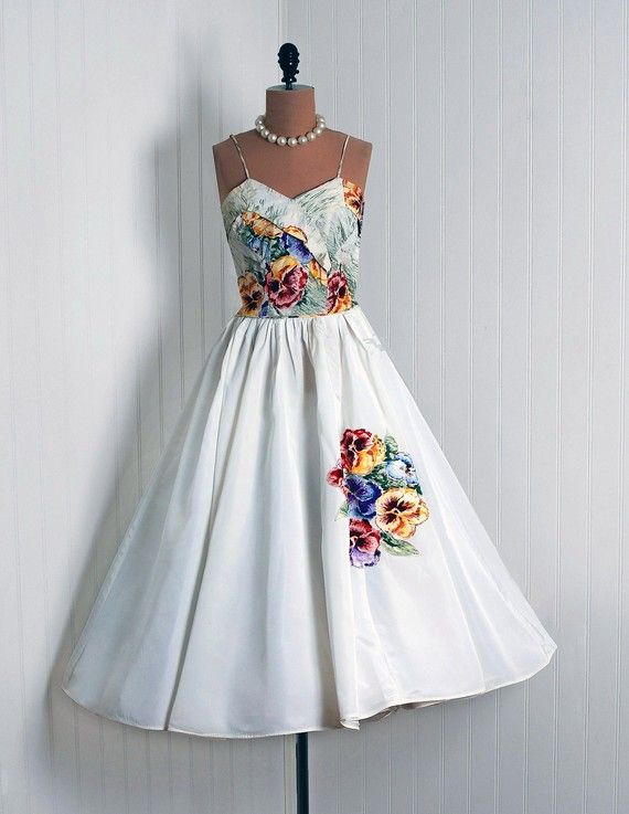 50's swing dress, needed for dancing!