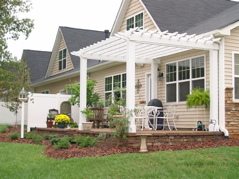 This Pergola Is Along The Lines Of What Weu0027ve Had In Mind For A · Pergola  DesignsPergola ...