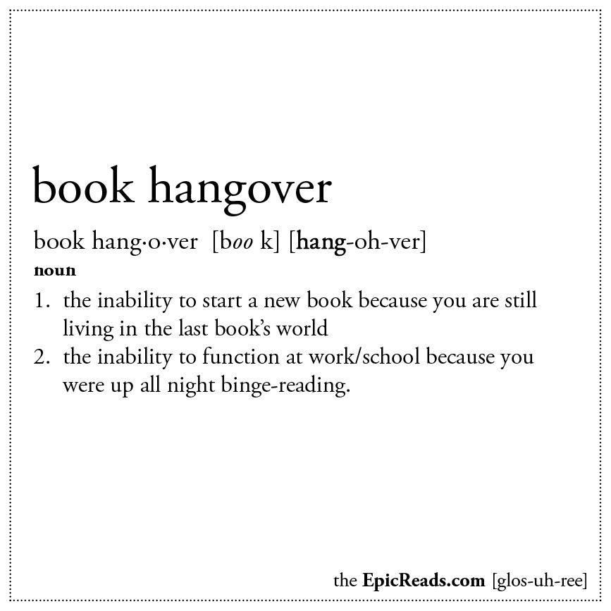 Book Hangovers Are Pretty Much The Worst | Epic Reads Blog