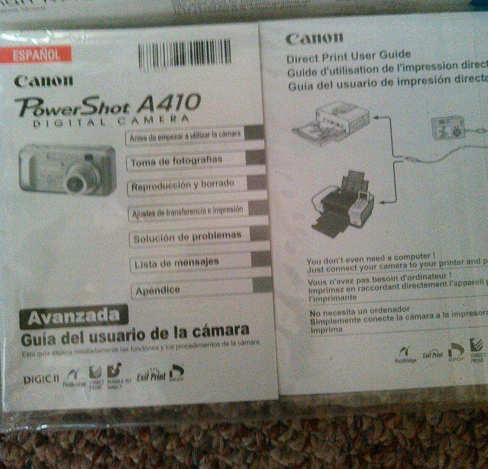 canon powershot a410 digital camera canon direct print user guide rh pinterest com canon digital photo professional user guide canon 5d digital camera user guide