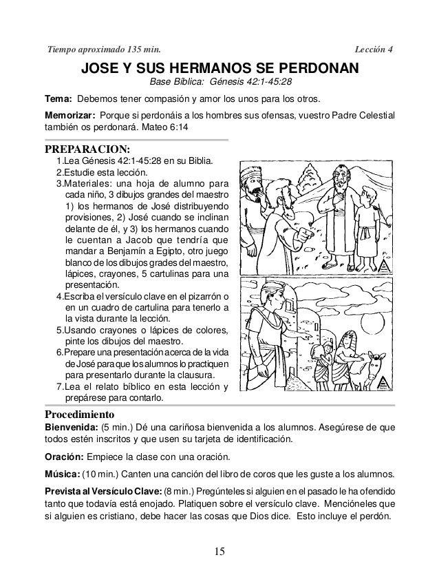 Jose El Sonador En Egipto Para Colorear Buscar Con Google Biblia Para Ninos Pepitos Biblicos