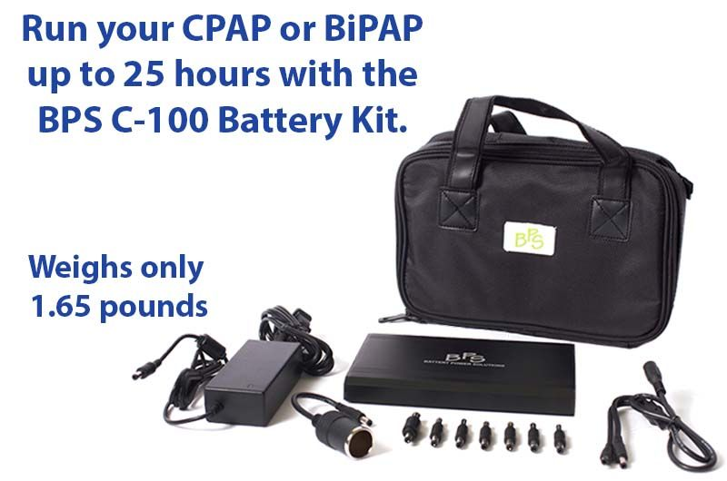 C 100 Light Weight Super Cpap Battery Kit With Images Cpap Cpap Machine Cpap Mask