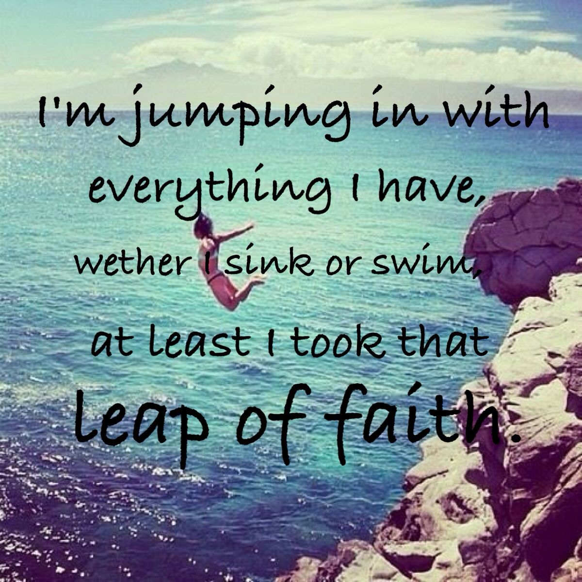 Faith Quotes Leap Of Faith Quote  Quotes Lyrics Sayings  Pinterest  Thoughts .