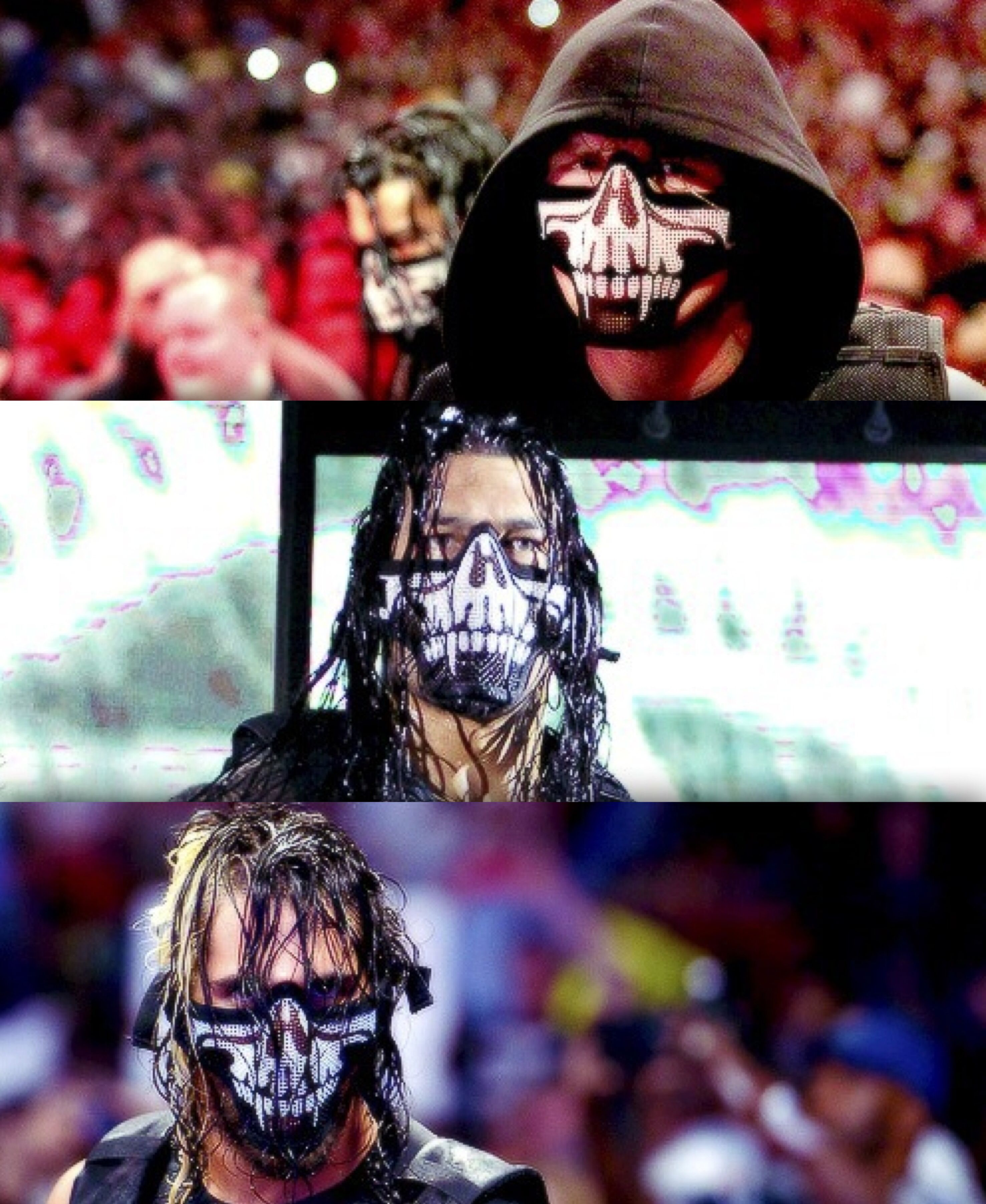 The Shield Rockin Their WrestleMania 30 Masks