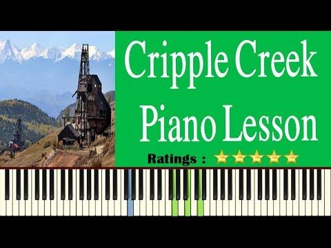 Cripple Creek Piano Tutorial Learn To Play Cripple Creek