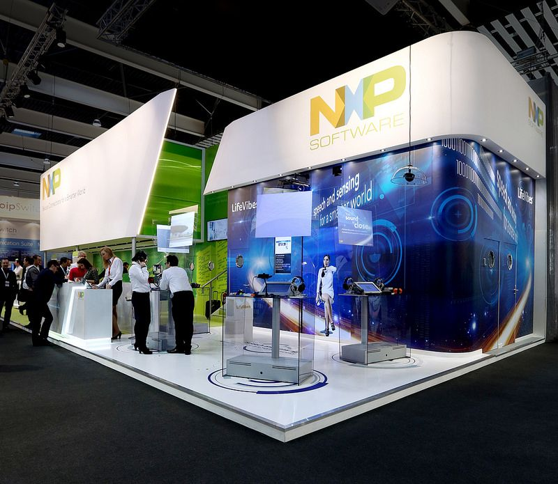 NXP at MWC 2014 | Exhibition | Exhibition stand design ...