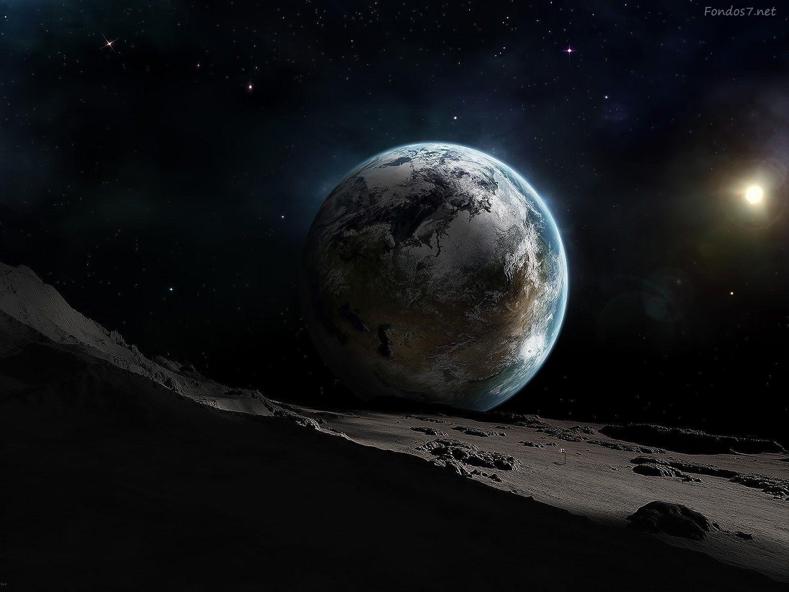 La Tierra vista desde el espacio 2016  El espacio Te perd y Tierra