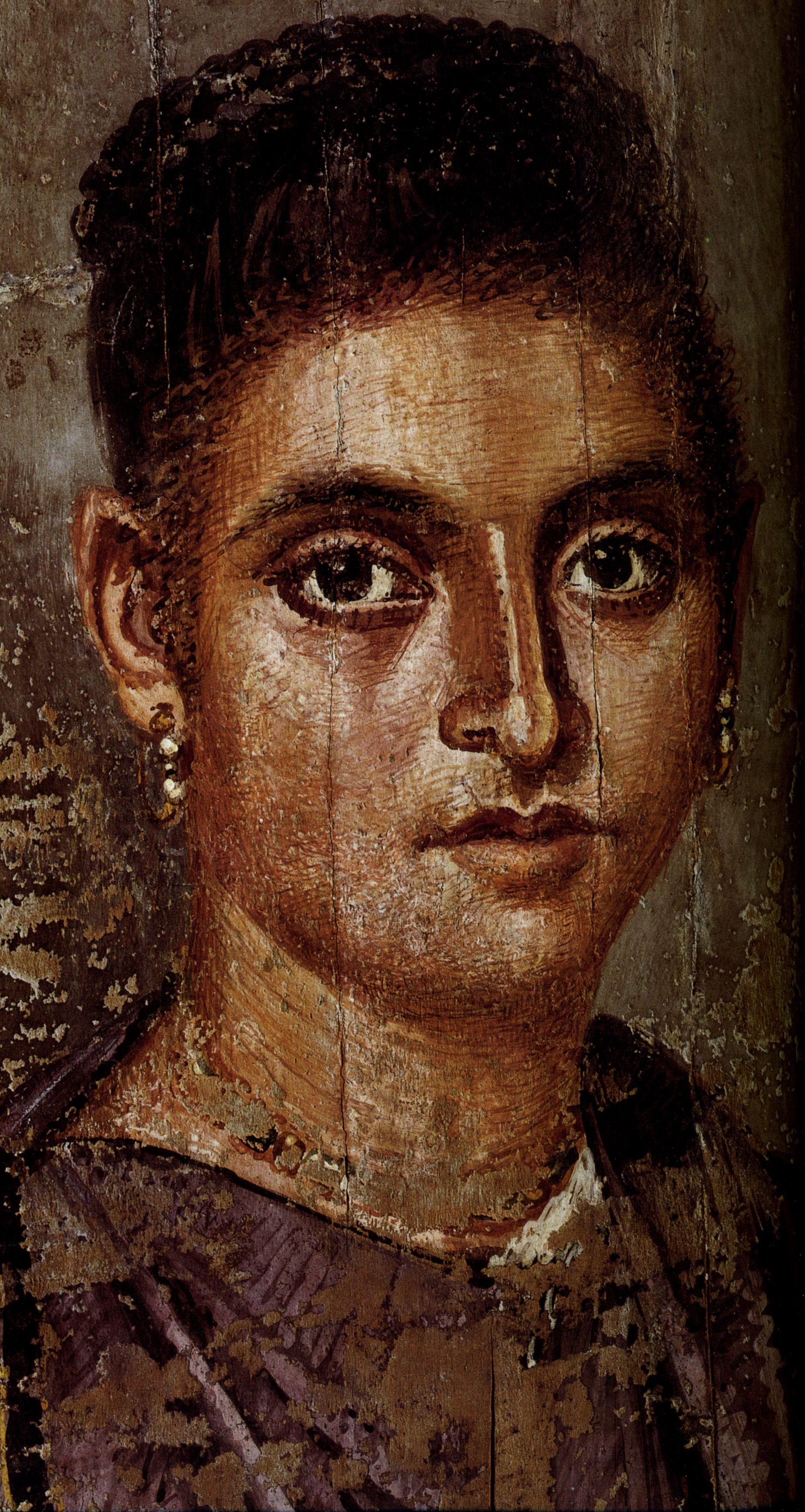 EGYPTE - Portraits du Fayoum - Arrête ton char   Art ...