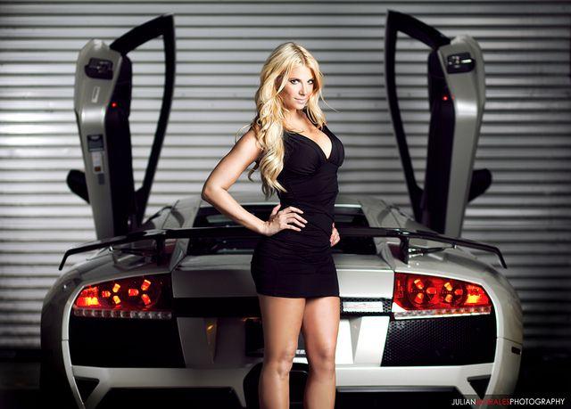 Lamborghini Girl | Car girls