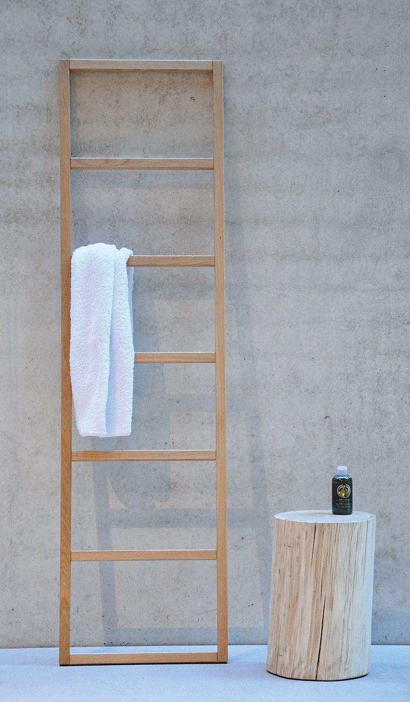 Handtuchleiter Eiche handtuchleiter jankurtzmöbel hip sprossen handtuchhalter und