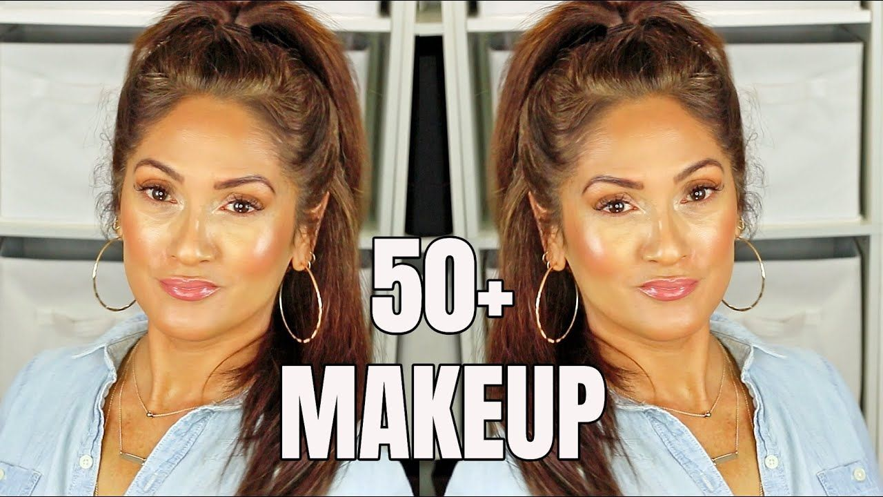 Natural Youthful Makeup How To Look Younger 50 Youtube In 2020 Youthful Makeup Vitamins For Hair Growth Light Hair Color