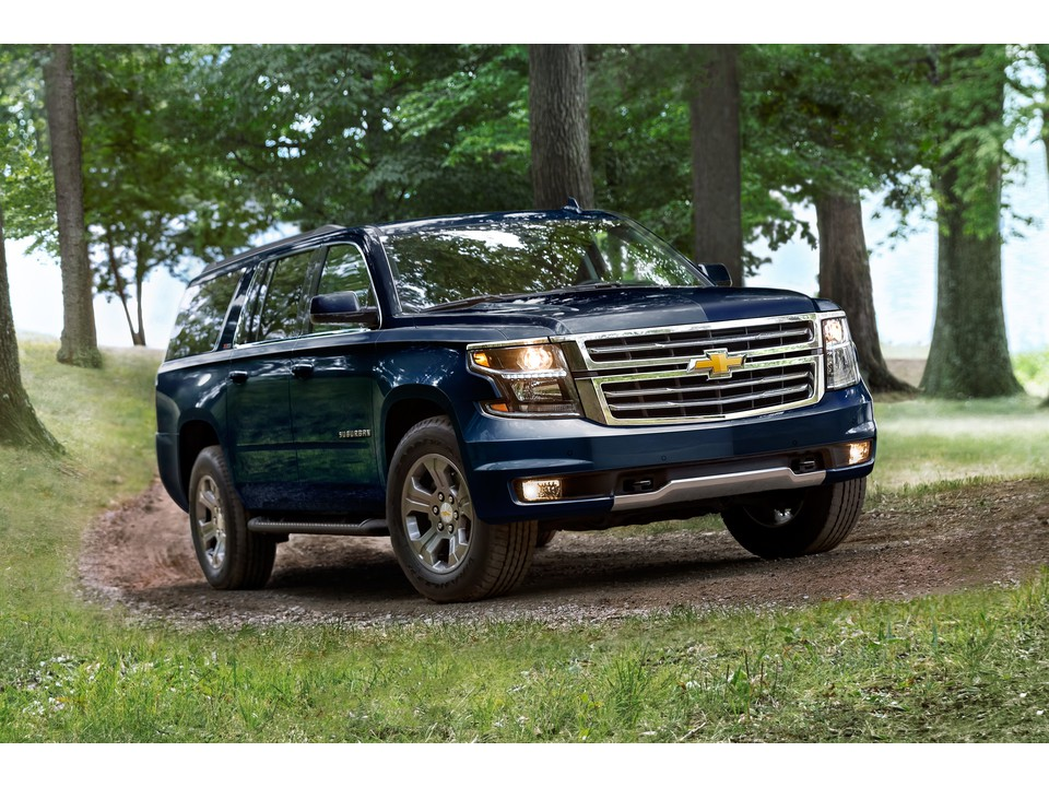 The Chevrolet Suburban Is Ranked 3 In Large Suvs By U S News