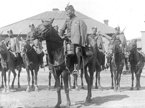 Cavalrymen of a Czechoslovak legion, Siberia, 1919.