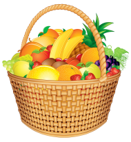 Download Gift Baskets Clipart Png Photo Png Free Png Images Fruit Basket Gift Fruit Basket Fruit Gifts