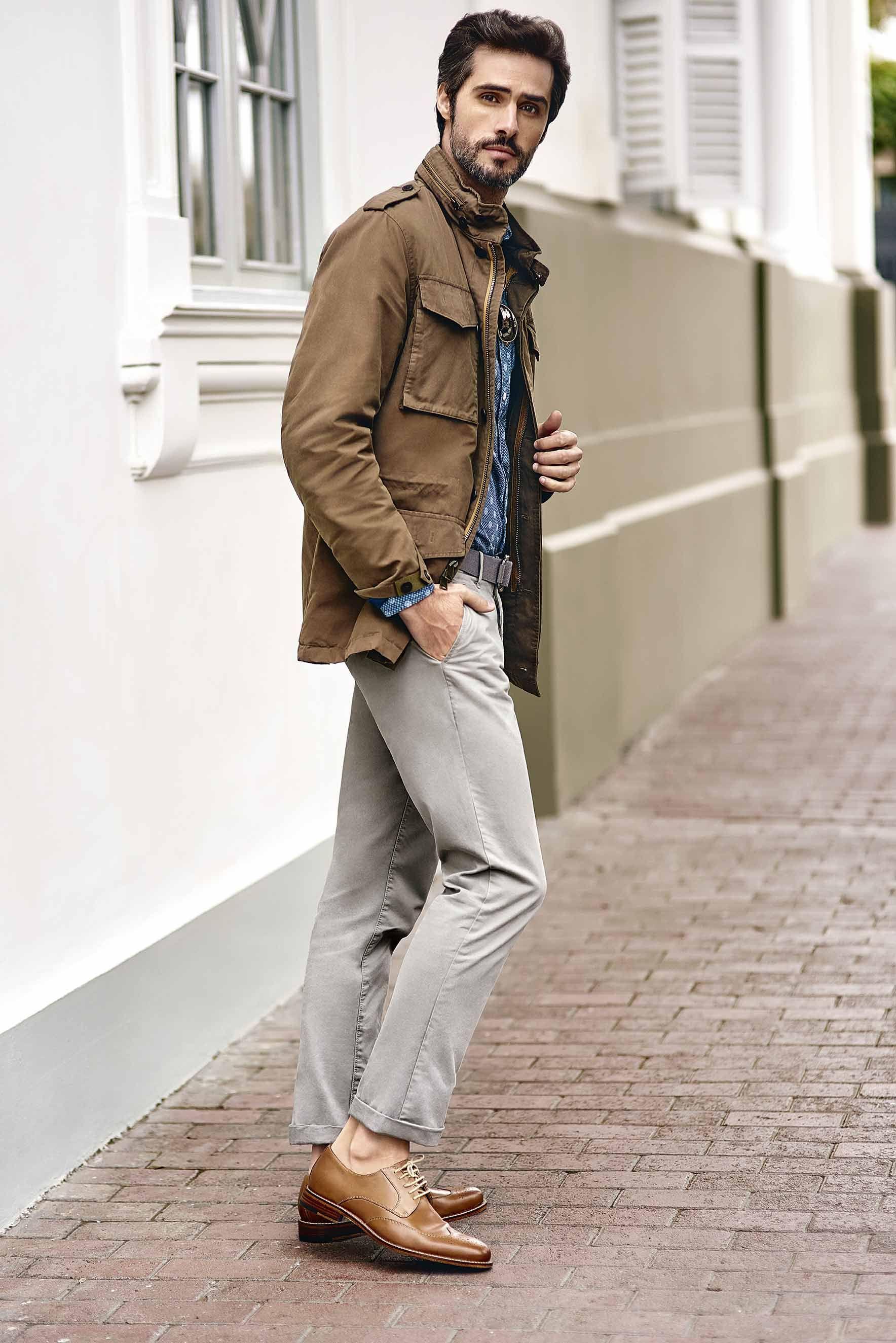 Zapatos marrones con botones formales RIVA para mujer MvRQh1nOoP