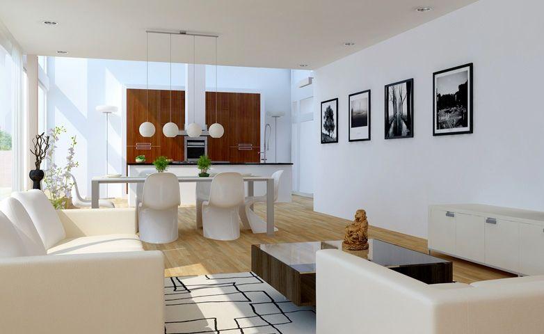 luxus wohnzimmer weiß-ideen für wohn esszimmer Small Rooms - wohnzimmer in wei