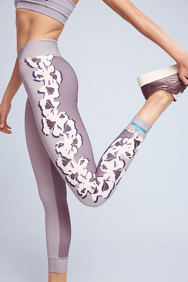 a905ee3f29 Flower Yoga Leggings | clothing styles | Stella mccartney adidas ...