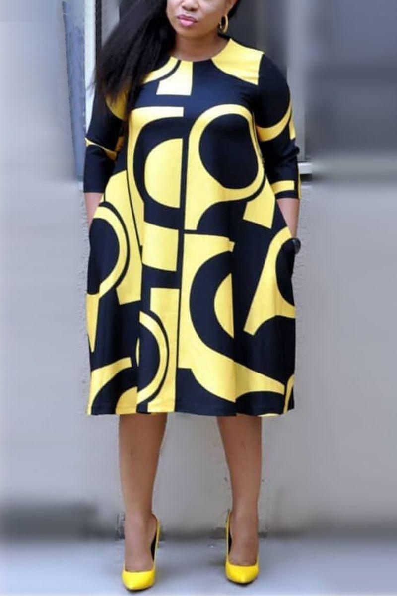 38++ Plus size yellow dress ideas information