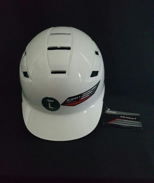 a91657caa Schutt Sports AiR MAXX T Baseball Batter s Helmet Large 3111 BB White NEW