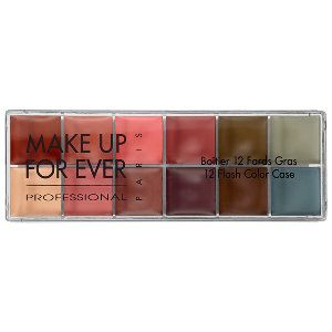 MAKE UP FOR EVER 12 Flash Color Case in Neutral #Sephora This is like the other one you have with the bright colors