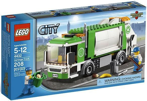 Lego City Garbage Truck #4432 NEW, No Box