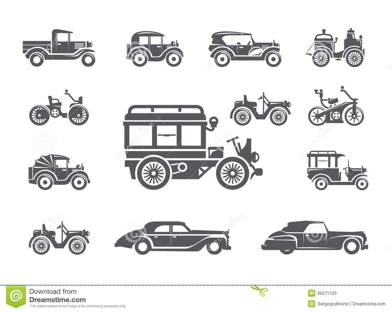 vintage car illustrations - Google Search   Illustration ...