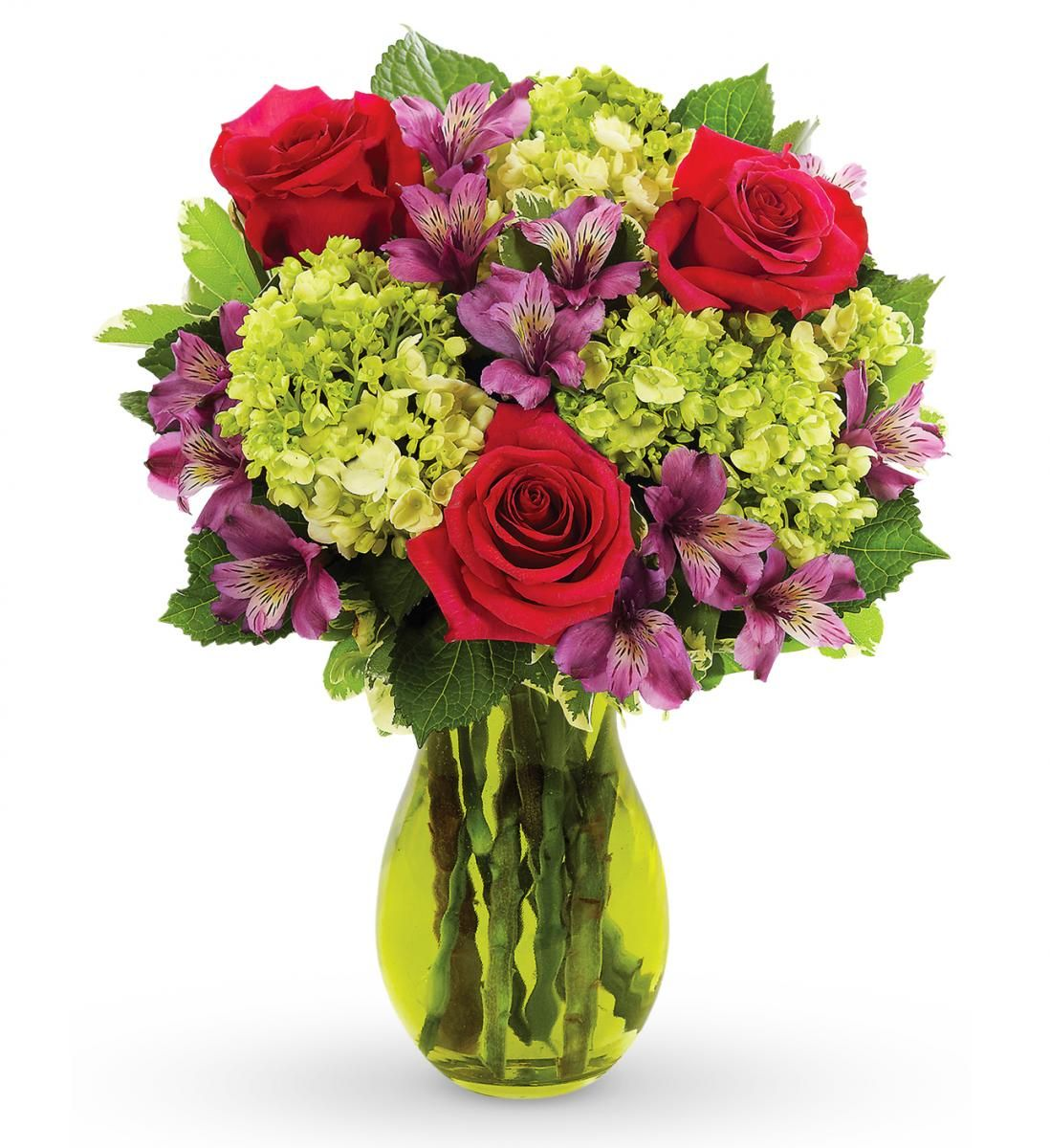 Hydrangea and rose bouquet flower delivery same day