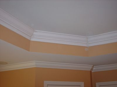 Tray Ceiling Home Renovation Home Remodeling Family Living Rooms
