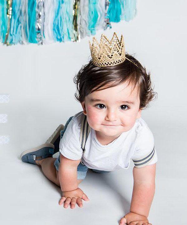 Look at this #zulilyfind! Love Crush Bowtique Gold Paxton Crown by Love Crush Bowtique #zulilyfinds