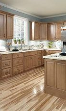 Super Kitchen Colors With Oak Cabinets Crown Moldings Ideas #honeyoakcabinets