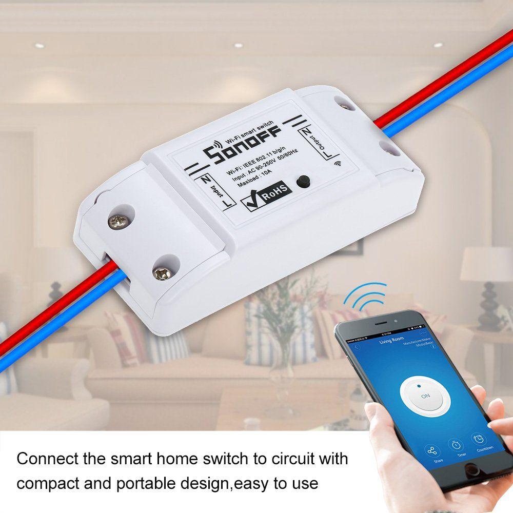 """SonOff  /""""Basic/"""" Interruttore wireless"""