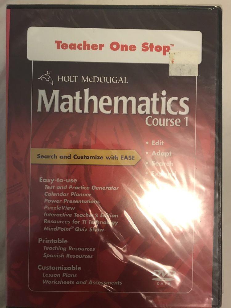 Pin By Suzan Memishi On Mathematics Course 1 Holt McDougal
