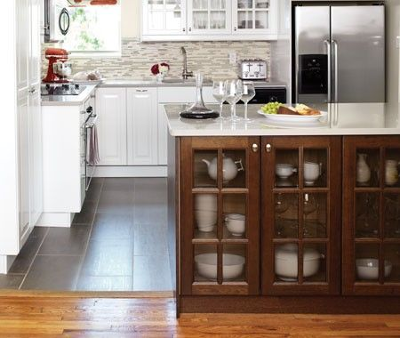 Flooring In Kitchen And Dining Areas