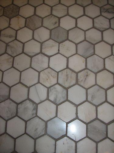 Delorean Grey Grout Google Search Bathroom Hex Tile