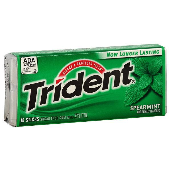 Trident Gum Is A Greek Mythology Allusion Because Poseidons Weapon