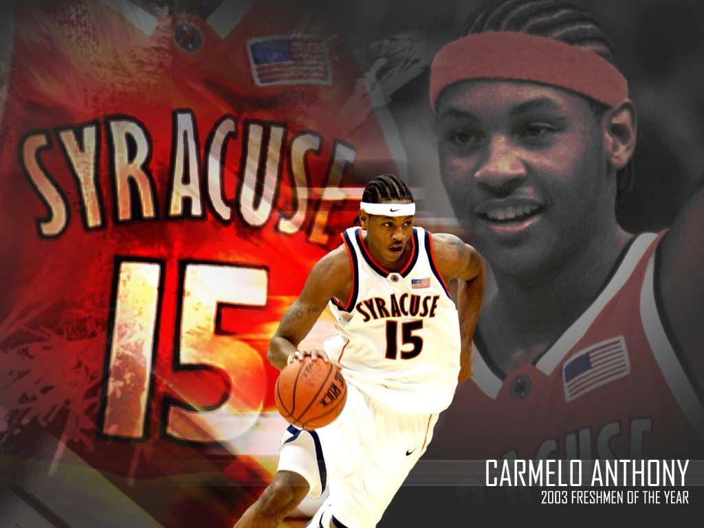 Back In Orange Carmelo Anthony Syracuse Basketball Syracuse Orange
