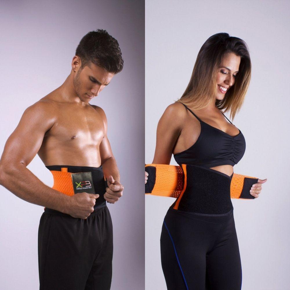 1f095652d0 New Waist Trainer Cincher Fitness Hot Shapers Body Women And Men Belt  Slimming Underwear Train Corset Modeling Strap