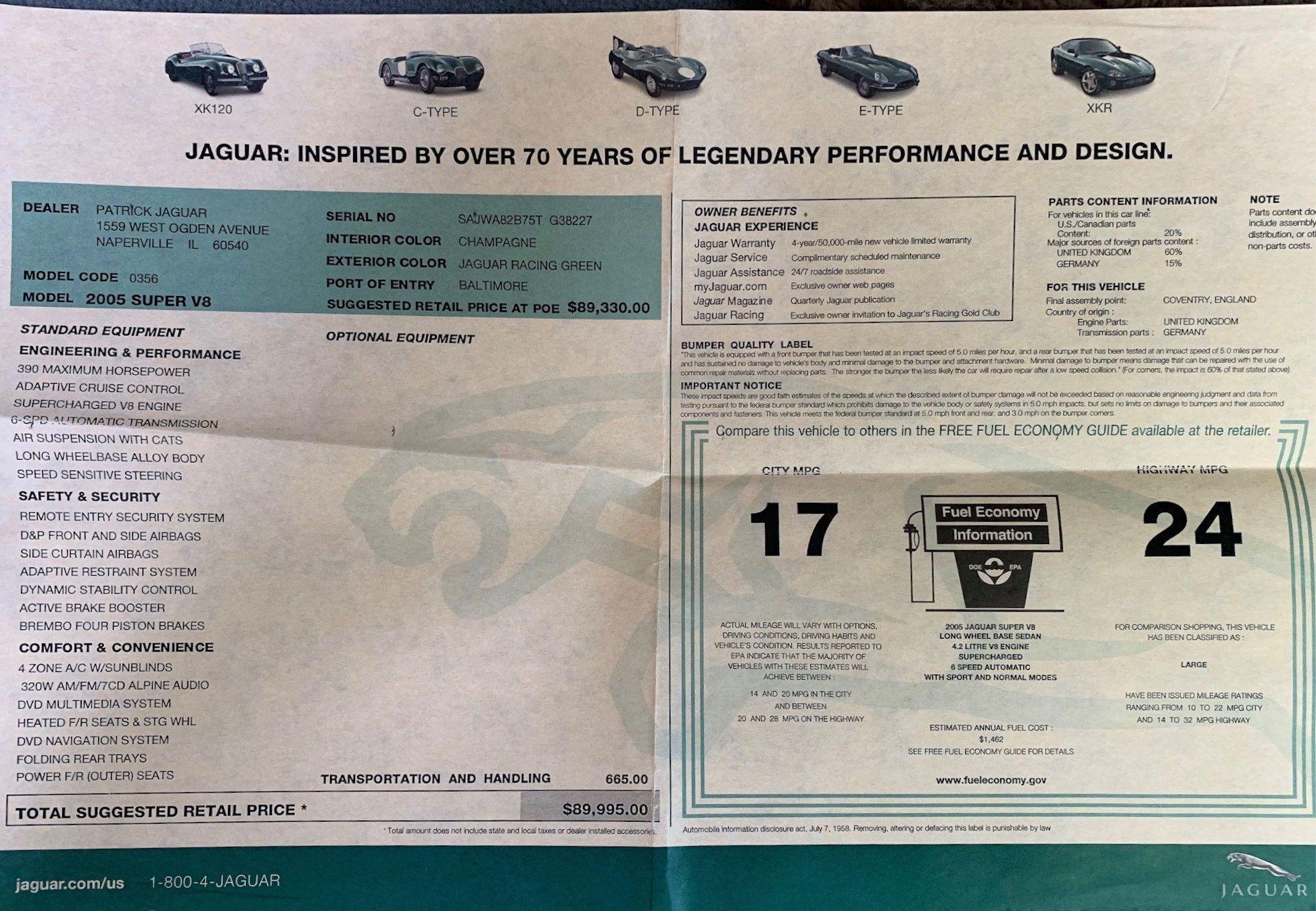 2005 Jaguar Super V8 | Jaguar, Jaguar f type, Color race