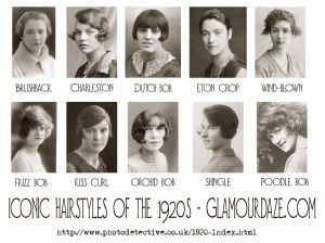 History Of Women S 1920s Fashion 1920 To 1929 Glamour Daze Hairstyle Names Hair Styles Men Hairstyle Names